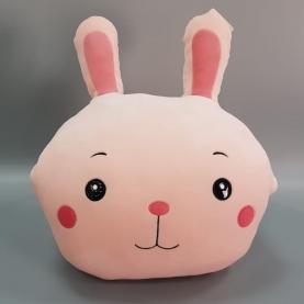 Мягкая игрушка Зайка: Плед, Подушка, Муфточка (45 см.) фото
