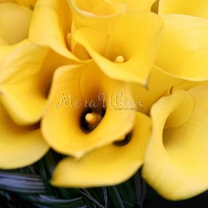 """Букет невесты """"Желтый"""" фото"""