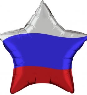 """Воздушный Шар """"Звезда"""", Триколор России (Эксклюзив)"""