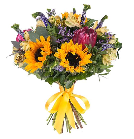 Цветы в подарок маме