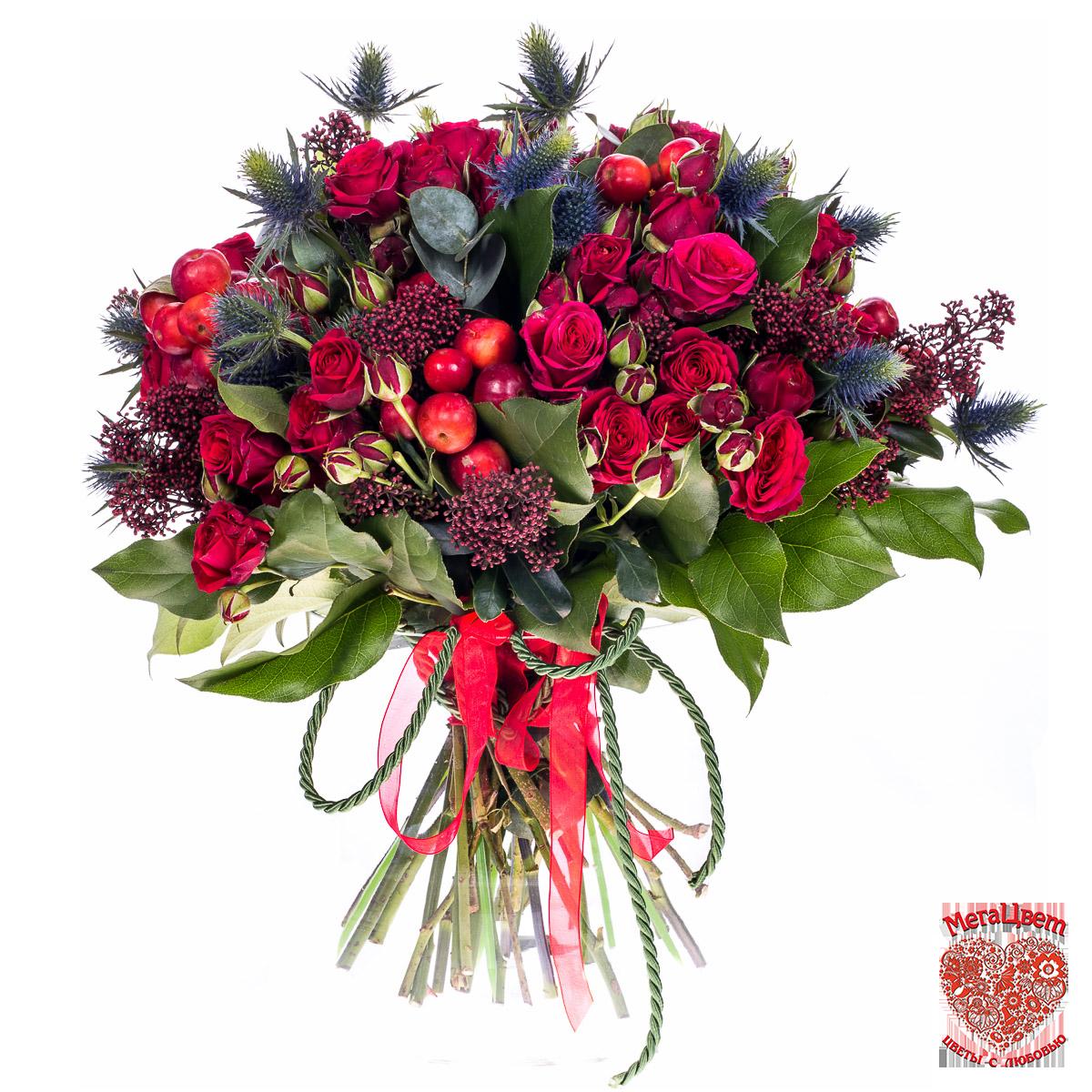 разновидности цветов в букете